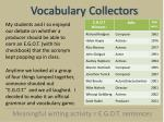 vocabulary collectors4