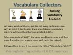 vocabulary collectors5