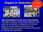 impact or outcome1