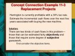 concept connection example 11 3 replacement projects3
