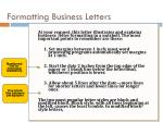 formatting business letters1