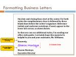 formatting business letters2