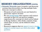 memory organization cont d