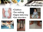 podo pediatrics