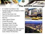 the nycpm advantage