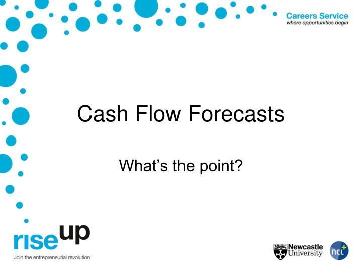 cash flow forecasts n.