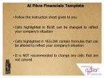 al fikra financials template