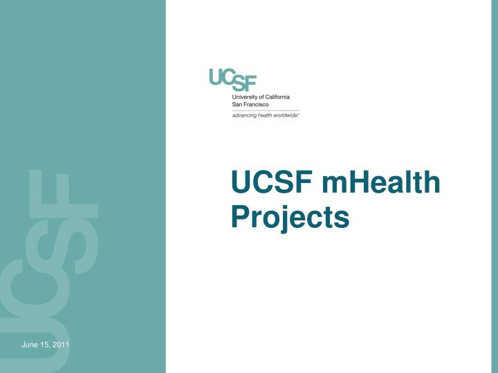 ucsf mhealth projects n.
