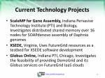 current technology projects