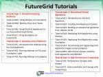 futuregrid tutorials