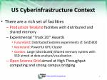us cyberinfrastructure context