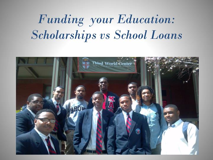 funding your education scholarships vs school loans n.