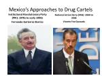 mexico s approaches to drug cartels