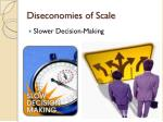 diseconomies of scale1