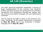 ab 140 brownley