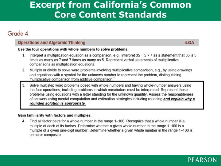 Excerpt from California's Common