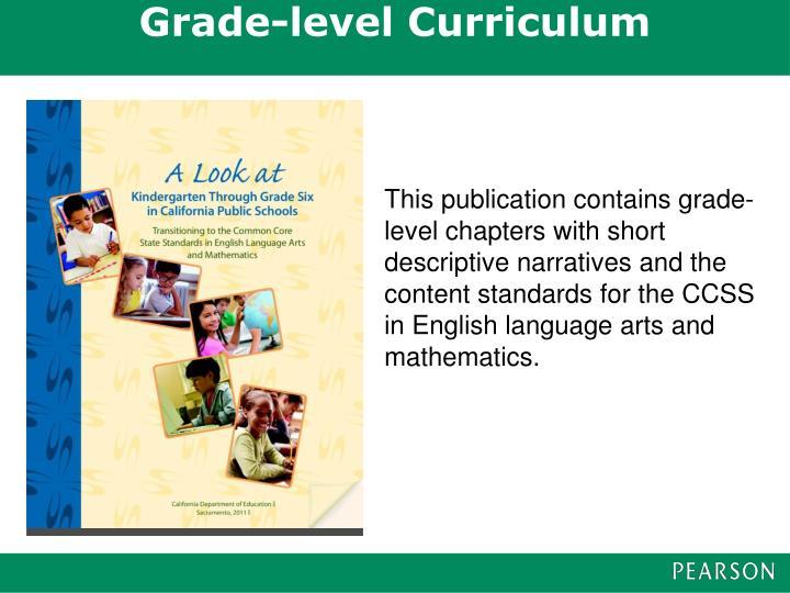 Grade-level Curriculum