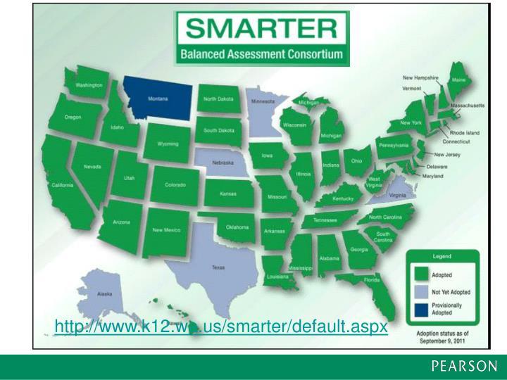 http://www.k12.wa.us/smarter/default.aspx