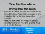 year end procedures1