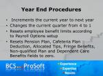 year end procedures11