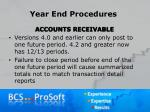 year end procedures13
