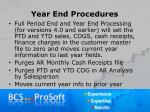 year end procedures14