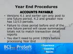 year end procedures16