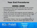 year end procedures18