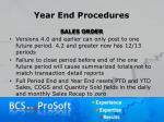year end procedures6