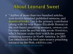 about leonard sweet2