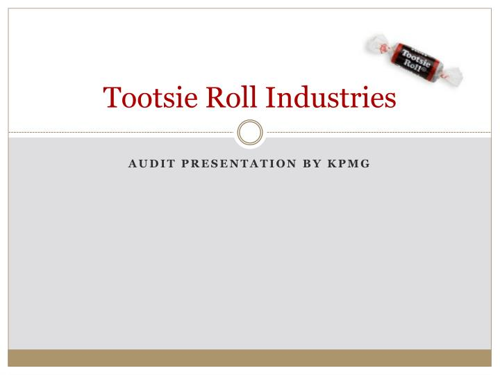 a comparative analysis of the hershey company tootsie roll industries This content was stolen from brainmasscom - view the original, and get the already-completed solution here using the financial statements for tootsie roll industries and the hershey company, respectively, calculate and compare the financial ratios listed below for the year ended on december 31, 2007.