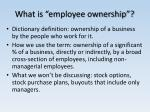 what is employee ownership