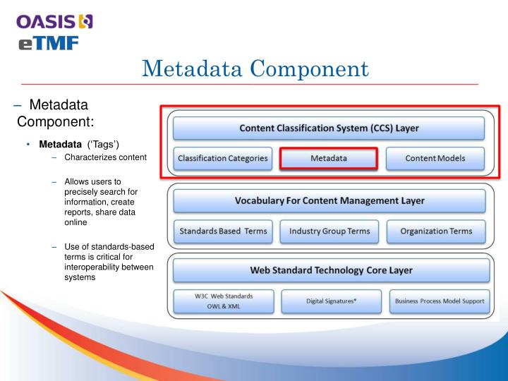 PPT - OASIS Electronic Trial Master File Standard ...