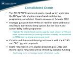 consolidated grants1