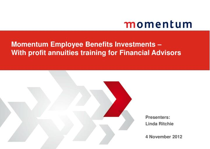 momentum employee benefits investments with profit annuities training for financial advisors n.