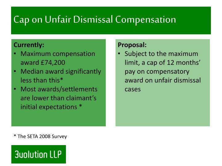 Cap on Unfair Dismissal Compensation