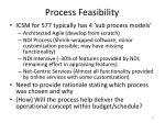process feasibility