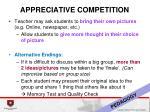 appreciative competition2