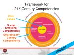 framework for 21 st century competencies
