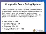 composite score rating system