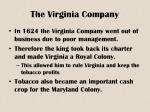 the virginia company