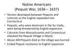 native americans pequot war 1636 1637