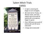 salem witch trials 1692