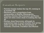 canadian airports