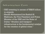 infrastructure costs1