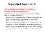 segregated days cont d4