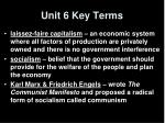 unit 6 key terms1