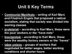 unit 6 key terms2