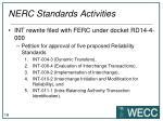 nerc standards activities1