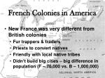 french colonies in america1